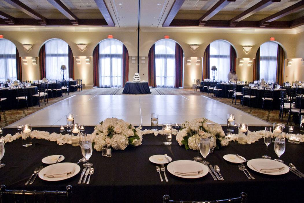 Hyatt Huntington Beach Huntington Ballroom Lisa Simpson Wedding